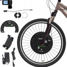 Kit conversie bicicleta electrica 36v 350W (roata fata 26 inch) IMOTOR 3