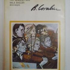 EXPOZITIE DE PICTURA BRADUT COVALIU DIN APRILIE -MAI 1984 DE LA SALA DALLES