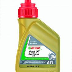 Ulei furca moto Castrol FORK OIL SYNT 5W 0,5L