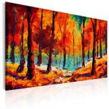 Tablou pictat manual - Arta toamna - 120 x 80 cm, Artgeist