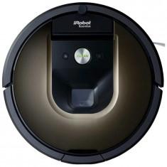 Robot de aspirare iRobot Roomba 980, navigare iAdapt, Carpet Boost, filtru dublu Hepa, curatare AeroForce, negru/maro