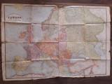 Harta romaneasca a Europei 1939 Romania Mare