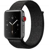Cumpara ieftin Curea iUni compatibila cu Apple Watch 1/2/3/4/5/6, 42mm, Nylon Sport, Woven Strap, Dark Black