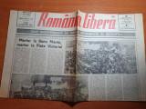 romania libera 30 ianuarie 1990-procesul comunistilor,miting banua manta