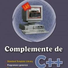 Hutanu Tudor Sorin Complemente de C++
