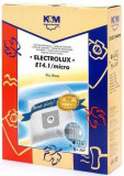 Sac aspirator Electrolux Xio, sintetic, 4X saci + 1 filtru, KM, K&m