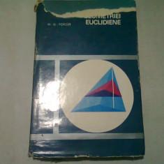 Fundamentele geometriei euclidiene - H. G. Forder
