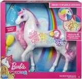 Unicorn Barbie Dreamtopia cu lumini si sunete