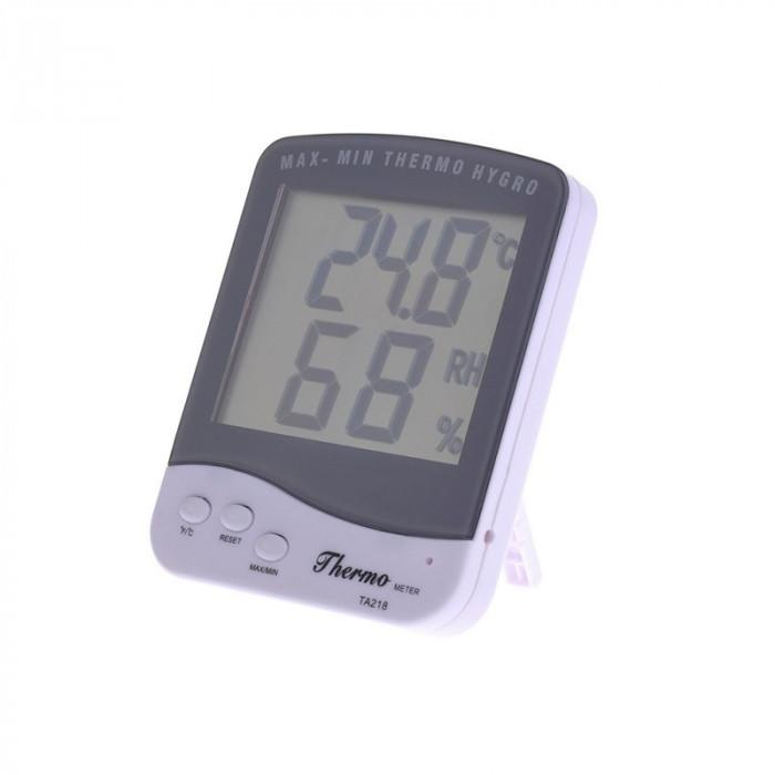 Termometru si higrometru TA218D, suport birou