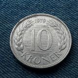 2o - 10 Kroner 1979 Danemarca, Europa