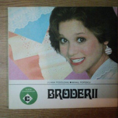 BRODERII de LILIANA PODOLEANU , MIHAIL POPESCU , 1988