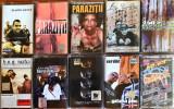 Col. 10 casete hip hop RO (BUG Mafia, Da Hood, Parazitii, La Familia, RACLA)