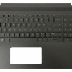 Carcasa superioara palmrest cu tastatura iluminata Laptop HP Pavilion 15-BR