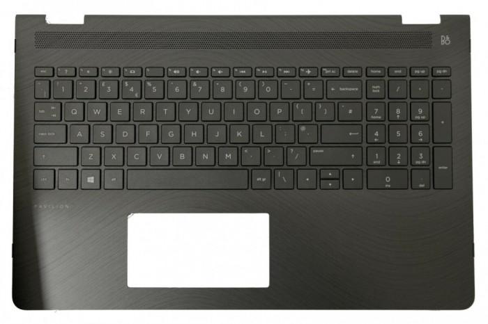 Carcasa superioara palmrest cu tastatura iluminata Laptop HP 924522-031