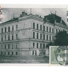 4503 - TIMISOARA, Romania - old postcard, real PHOTO - used - 1910 - TCV, Circulata, Fotografie