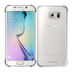 Husa Samsung Galaxy S6 edge G925 Clear Cover argintie ORIGINALA