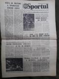 Ziarul Sportul din 8 octombrie 1976