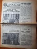 informatia bucurestiului 24 ianuarie 1983-m.el geddafi in romania,mica unire