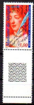 FRANTA 1996, EUROPA CEPT, serie neuzata, MNH foto