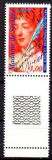 FRANTA 1996, EUROPA CEPT, serie neuzata, MNH