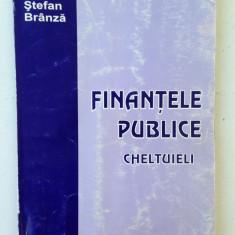 Finantele publice-cheltuieli/autor Stefan Branza/2002