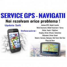 Service Navigatie GPS – actualizare harti Europa