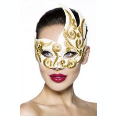 Masca Venetiana Gold Strass