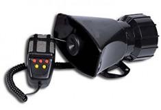 Sirena Politie 5 melodii cu microfon 100W  CRR-IT SPECIFIC POLITIEI AL-090317- foto