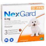 Nexgard S (2 - 4 kg), 3 comprimate