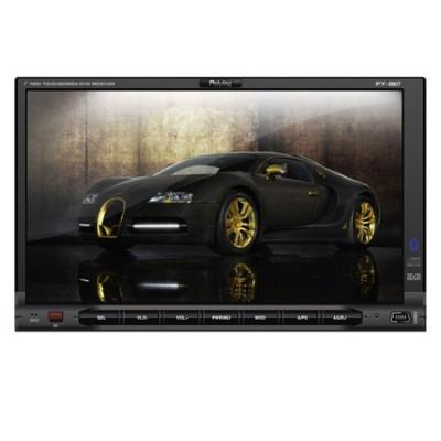 DVD PLAYER 2DIN 7 inch MP3/MP4/DIVX/USB/SD/BT/GPS foto