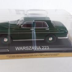 macheta warszawa 223 + revista masini de legenda nr.25 - 1/43, noua.