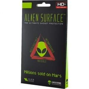 Folie Alien Surface HD, Apple iPhone 8, protectie spate, laterale + Alien Fiber...