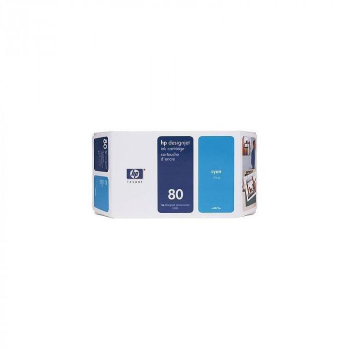 Cartus cerneala HP 80 Small Cyan
