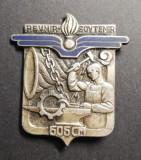Insigna Militara Regimentala Compania 605 CM Franța Drago H 748