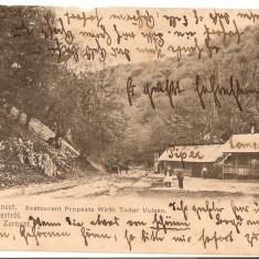 Carte poștală din Zărnești, restaurant Todor Vulsan, Circulata, Printata