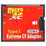 Adaptor card de memorie SD la card Compact Flash CF maxim 128GB