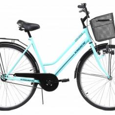 Bicicleta Dama Kreativ 2812 505mm Turcoaz 28