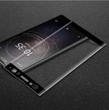 Folie Sticla Curbata 3D / Full Tempered Glass pentru Sony Xperia XA2 Ultra