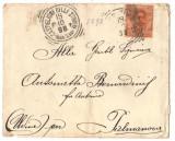 Italy 1898 Postal History Rare Cover Castiglione to Palmanova D.138