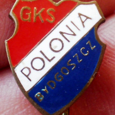 I.942 INSIGNA STICKPIN SPORT CLUB POLONIA GKS BYDGOSZCZ 10mm