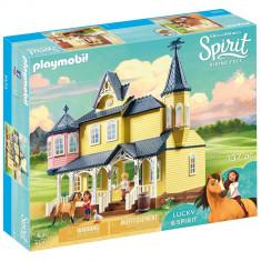 Playmobil Spirit - Casa lui Lucky