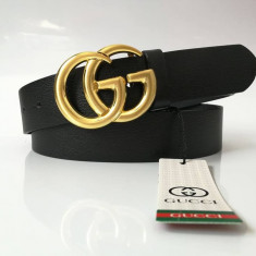 Curea Piele Naturala GG Gold