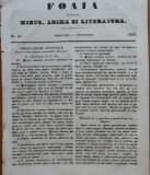 Ziarul Foaia pentru minte , inima si literatura , nr. 48 , 1853