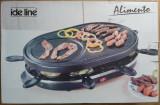 Gratar raclette ( fondue ) Ide Line Alimento pentru 8 persoane ( ca nou )