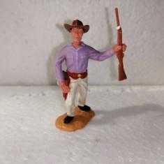bnk jc Figurina de plastic - Timpo - cowboy cu pusca