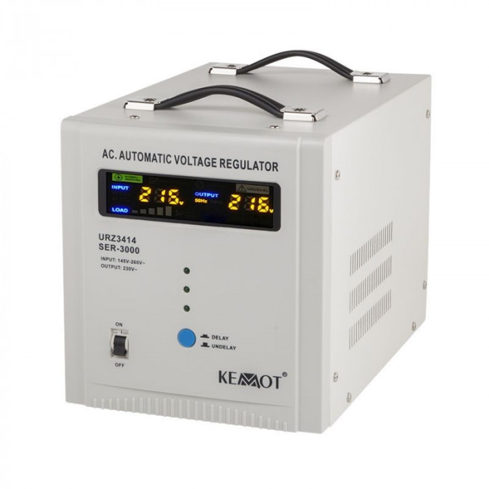 Stabilizator tensiune automat Kemot, 3000 VA