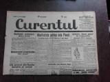 Ziarul Curentul , director Pamfil Seicaru , 9 mai nr.1890/1933
