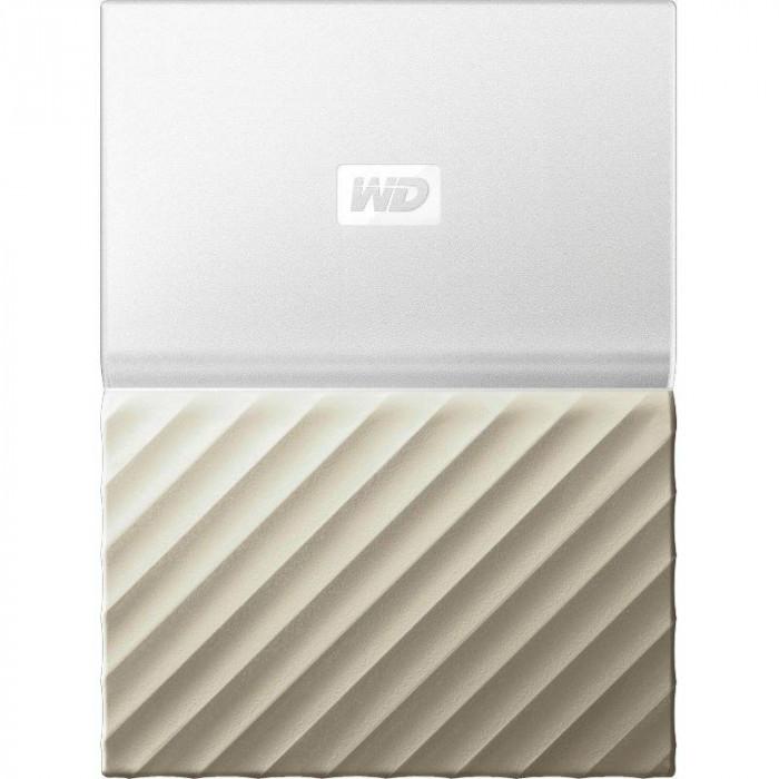Hard disk extern WD My Passport Ultra 4TB 2.5 inch USB 3.0 Gold