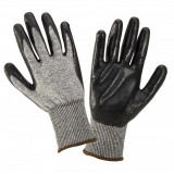 Manusi nitril antitaiere tricotate Lahti Pro, marimea 10