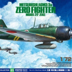 1:72 Mitsubishi A6M3/3a Zero Fighter Model 22 (Zeke) - 1 figure 1:72